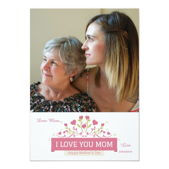 Mother's Day Love Photo Card