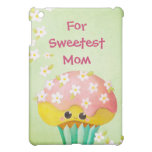 Mother's Day Lovely Cupcake -custom txt- Cover For The iPad Mini