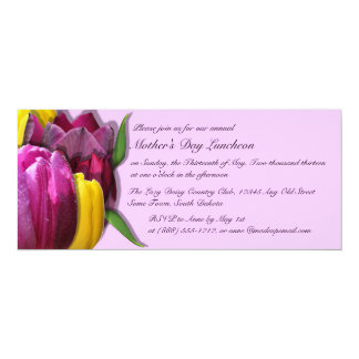 Mother's Day Luncheon Custom Invitations