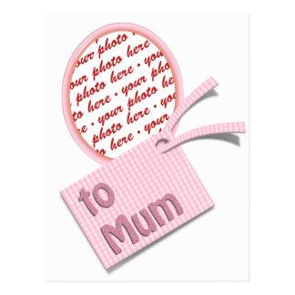 Mother's Day Memento Frame for Mum Postcard