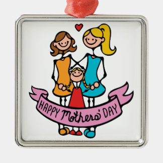 Mothers Day Metal Ornament