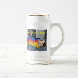 Mother's Day Modeling Clothes Beer Stein