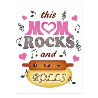 Mother's Day / Mom Rock & Bake Postcard