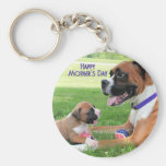 Mothers Day - Mommy Boxer - Vindy Keychains