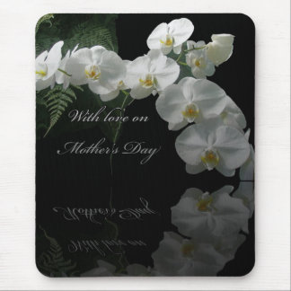 Mother's Day Moth Orchids & Ferns Mousepad
