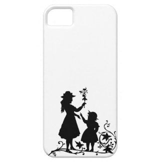 Mother's Day mother daughter vintage silhouette iPhone SE/5/5s Case
