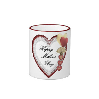 mother's day ringer coffee mug