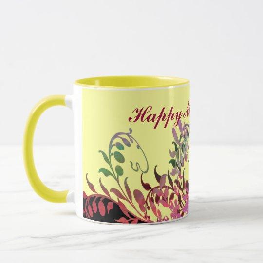 Mother's Day Mug - Enchanting Flowers