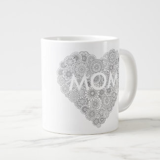"Mother's Day Mug: ""Happy Mother's Day"" Giant Coffee Mug"
