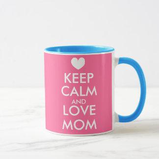 Mothers Day Mug | Keep Calm and love mom