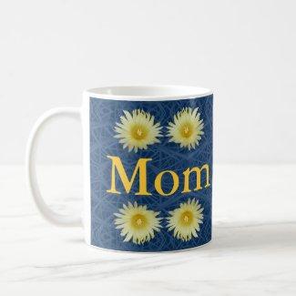 Mother's Day Mug with Barrel Cactus Mandala mug