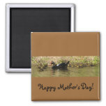 Mother's Day Muscovy Duck Magnet