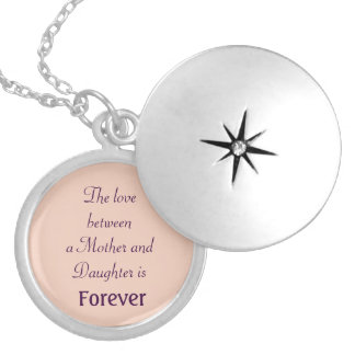 Mother's Day necklace daughter locket