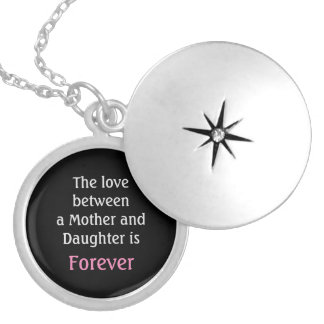 Mother's Day necklace daughter pendant locket