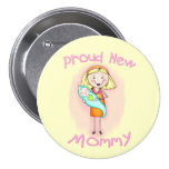 Mother's Day / New Mom 3 Inch Round Button