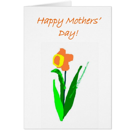 Mothers' Day note card