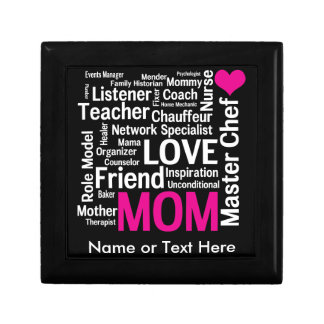 Mother's Day or Birthday for a Wonderful Mom Keepsake Box