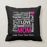 Mother's Day or Birthday for a Wonderful Mom Pillows