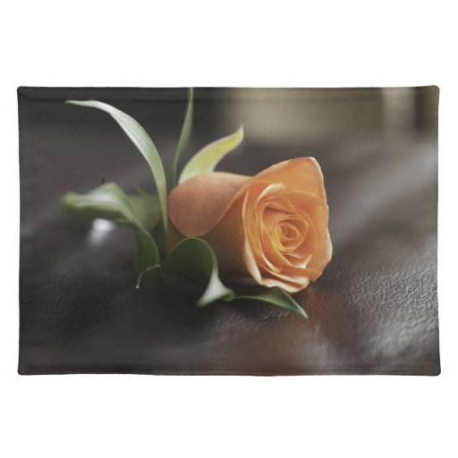 Mother's Day - Orange Rose Cloth Place Mat
