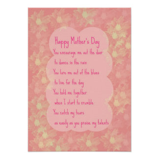 Mother's Day Original Poetry Print
