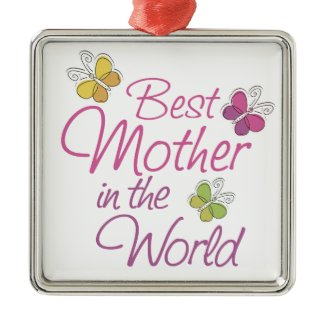 Mothers Day Christmas Ornaments