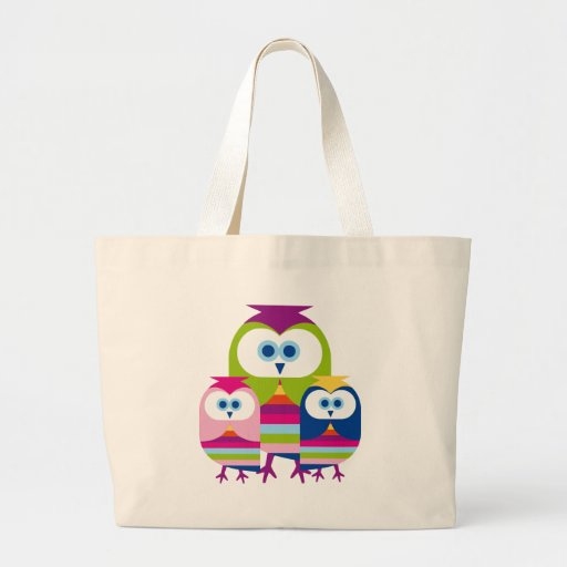 Mother's Day Owls - Customize or Text Included Bags