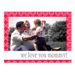 MOTHER'S DAY PARTY INVITATION POSTCARD