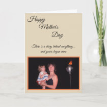 Mother's Day photo card