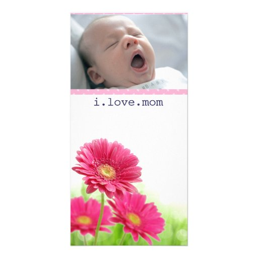 mothers day photo card