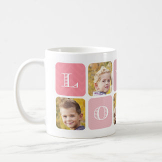 Mother's Day Photo Collage Mug