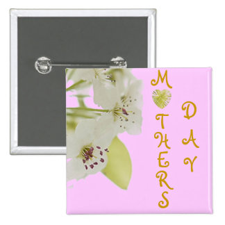 MOTHERS DAY PINBACK BUTTON