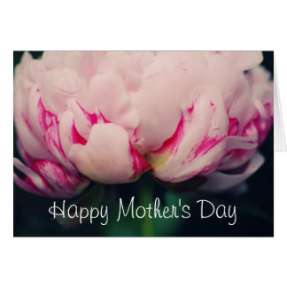 Mother's Day Pink Peony Card