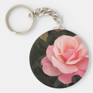 Mother's Day Pink Rose Keychain