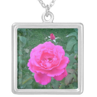 Mother's Day Pink Rose Pendants