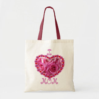 Mother's Day Pink Roses ToteBag Tote Bag