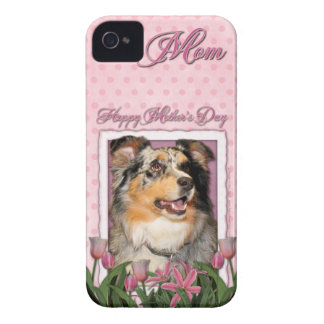 Mothers Day - Pink Tulips - Aussie - Gustine iPhone 4 Case