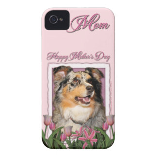 Mothers Day - Pink Tulips - Aussie - Gustine iPhone 4 Cover