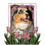 Mothers Day - Pink Tulips - Aussie - Gustine Cut Outs