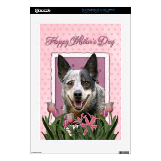 Mothers Day - Pink Tulips - Australian Cattle Dog Decals For The PS3
