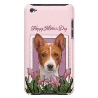Mothers Day - Pink Tulips - Basenji iPod Case-Mate Case
