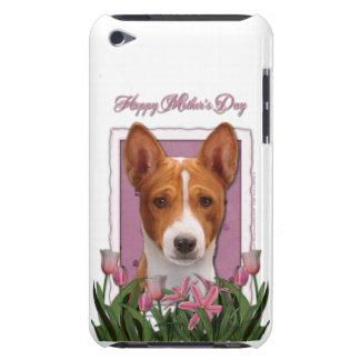 Mothers Day - Pink Tulips - Basenji iPod Touch Cover