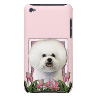 Mothers Day - Pink Tulips - Bichon Frise iPod Touch Cases