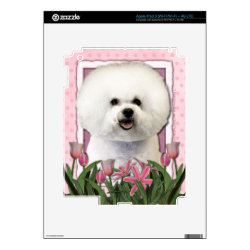 Amazon Kindle DX Skin with Bichon Frise Phone Cases design