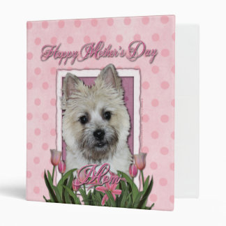 Mothers Day - Pink Tulips - Cairn - Teddy Bear Binder