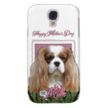 Mothers Day - Pink Tulips - Cavalier - Blenheim Galaxy S4 Case