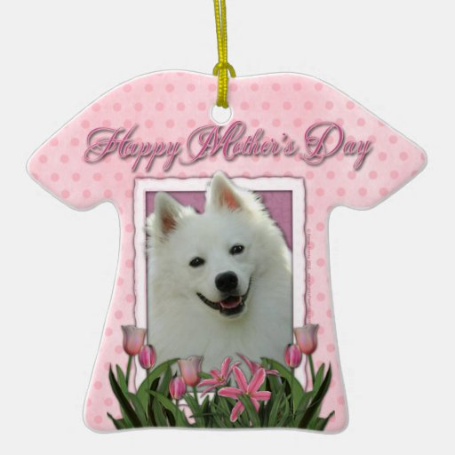 Mothers Day - Pink Tulips - Cavalier - Blenheim Christmas Tree Ornaments