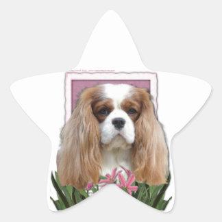 Mothers Day - Pink Tulips - Cavalier - Blenheim Star Sticker