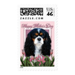 Mothers Day - Pink Tulips - Cavalier - Tri-Color Postage