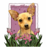 Mothers Day - Pink Tulips - Chihuahua Cut Outs