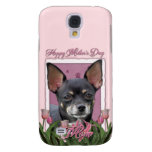 Mothers Day - Pink Tulips - Chihuahua - Isabella Samsung Galaxy S4 Cover